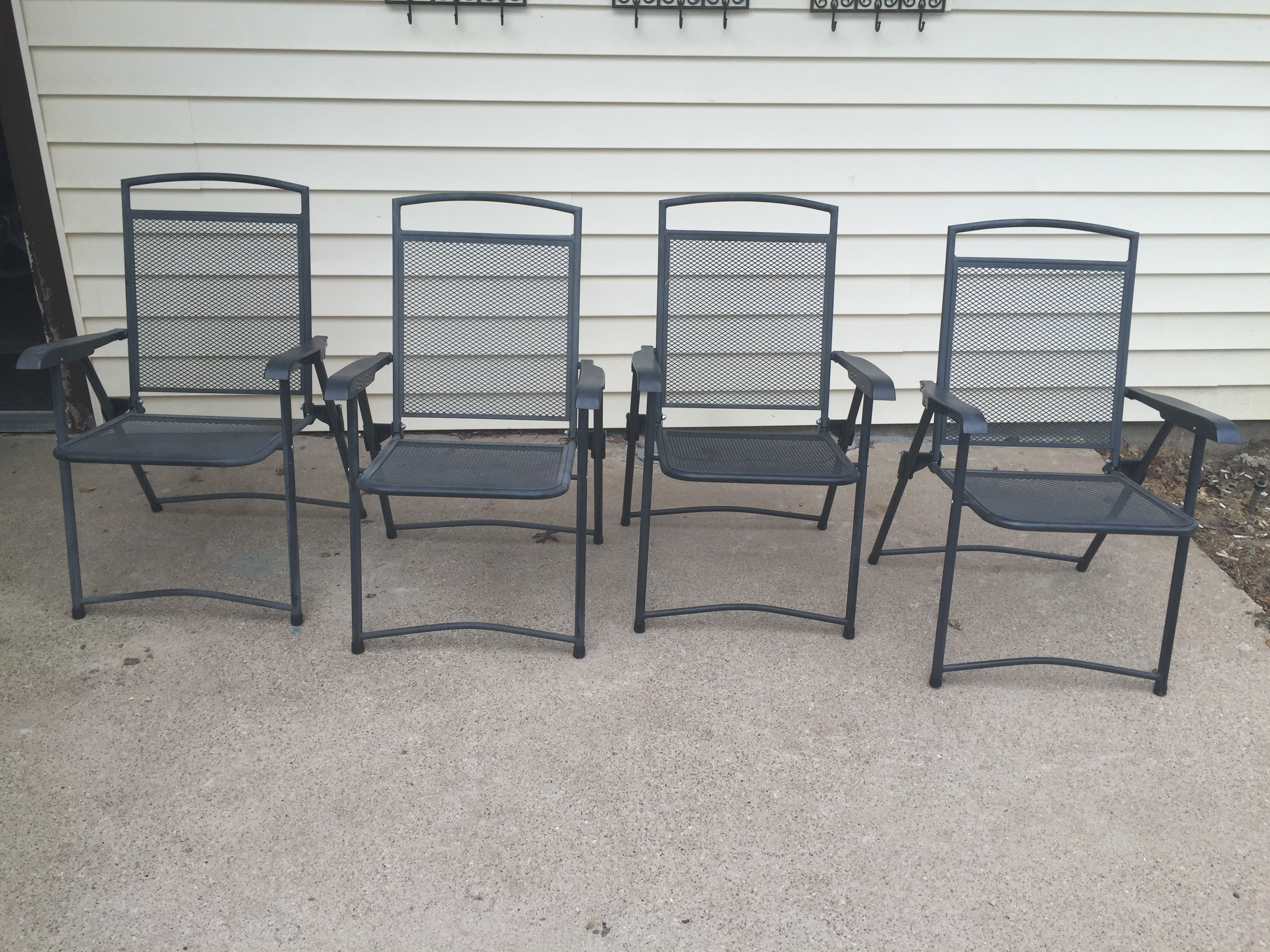 Used Metal Folding Chairs Flash Furniture Hamcafgrygg Hercules