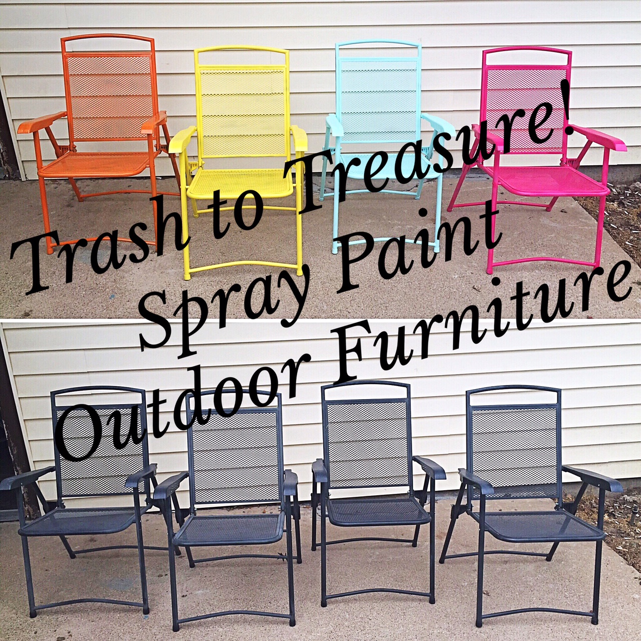 Exceptionnel Spray Paint Outdoor Furniture